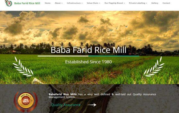 BABA FARID RICE MILLS